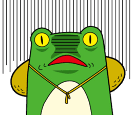 Johnny of a frog sticker #2369167