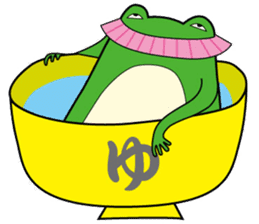 Johnny of a frog sticker #2369171