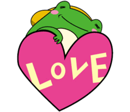 Johnny of a frog sticker #2369183