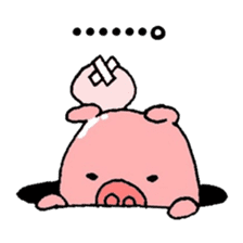 DAILY LIFE OF A PRETTY PIGLET sticker #2369258