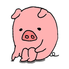 DAILY LIFE OF A PRETTY PIGLET sticker #2369278