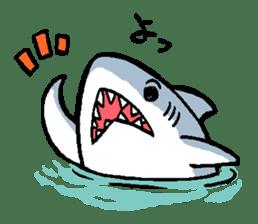 Mr.Great white shark sticker #2373376