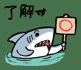 Mr.Great white shark sticker #2373377