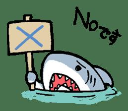 Mr.Great white shark sticker #2373378