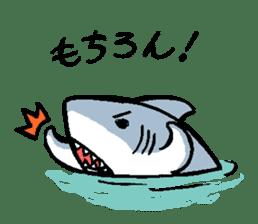 Mr.Great white shark sticker #2373379