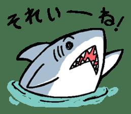 Mr.Great white shark sticker #2373380