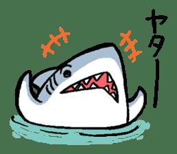 Mr.Great white shark sticker #2373381
