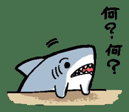 Mr.Great white shark sticker #2373382