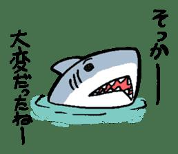 Mr.Great white shark sticker #2373384