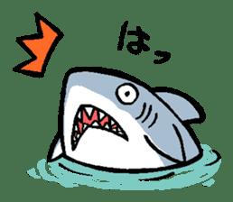 Mr.Great white shark sticker #2373385