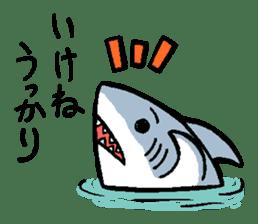 Mr.Great white shark sticker #2373386