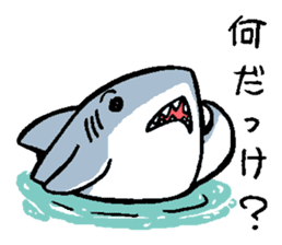 Mr.Great white shark sticker #2373389