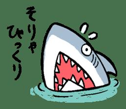 Mr.Great white shark sticker #2373391