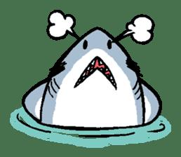 Mr.Great white shark sticker #2373393