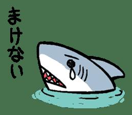 Mr.Great white shark sticker #2373395