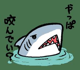 Mr.Great white shark sticker #2373398