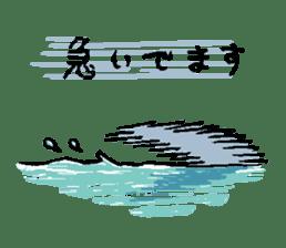 Mr.Great white shark sticker #2373403