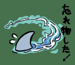 Mr.Great white shark sticker #2373404