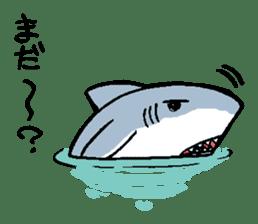 Mr.Great white shark sticker #2373405