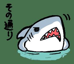 Mr.Great white shark sticker #2373406