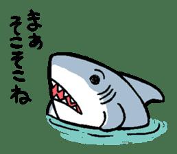 Mr.Great white shark sticker #2373407