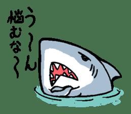 Mr.Great white shark sticker #2373409