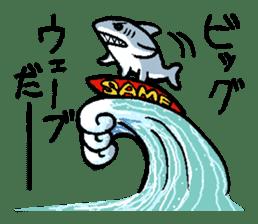 Mr.Great white shark sticker #2373411