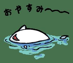 Mr.Great white shark sticker #2373413
