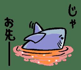 Mr.Great white shark sticker #2373414