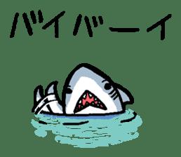 Mr.Great white shark sticker #2373415