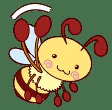 Little Bee 4 sticker #2377339