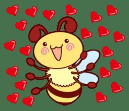 Little Bee 4 sticker #2377348