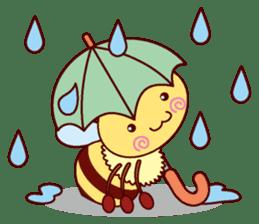 Little Bee 4 sticker #2377351