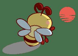 Little Bee 4 sticker #2377352