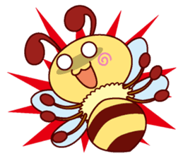 Little Bee 4 sticker #2377374