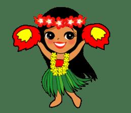Hawaiian sticker sticker #2378904