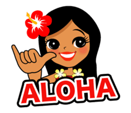 Hawaiian sticker sticker #2378918