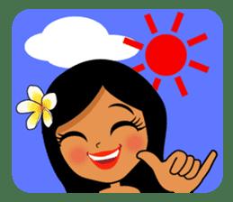 Hawaiian sticker sticker #2378923