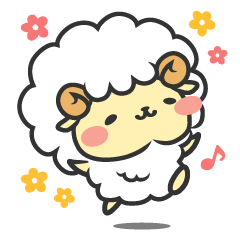 Mohubo the fluffy sheep
