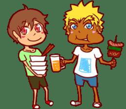 Japanese FES & LIVE Sticker sticker #2387552