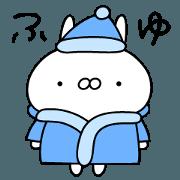 สติ๊กเกอร์ไลน์ Usagi-chan winter ver.