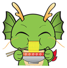 Dragy The Cute Baby Dragon sticker #2389938