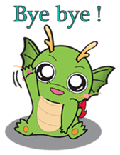Dragy The Cute Baby Dragon sticker #2389943