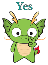 Dragy The Cute Baby Dragon sticker #2389945
