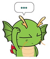 Dragy The Cute Baby Dragon sticker #2389947