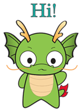 Dragy The Cute Baby Dragon sticker #2389949