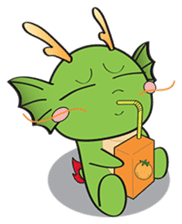 Dragy The Cute Baby Dragon sticker #2389951