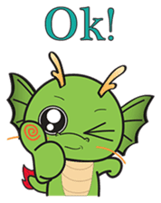 Dragy The Cute Baby Dragon sticker #2389957