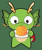 Dragy The Cute Baby Dragon sticker #2389959