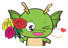 Dragy The Cute Baby Dragon sticker #2389962